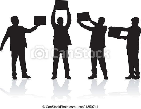 Gente de negocios - csp21850744