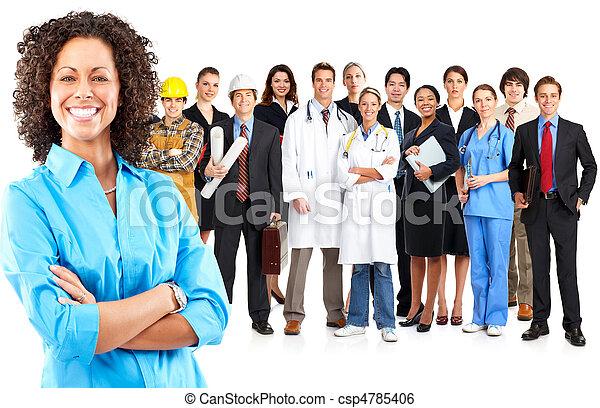 Gente de negocios - csp4785406