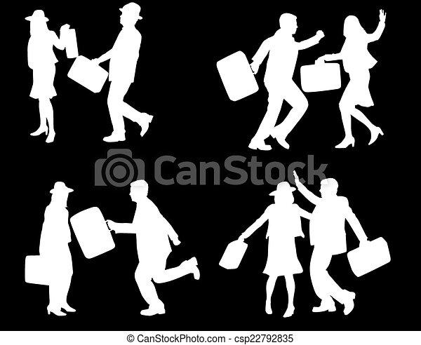 Gente de negocios - csp22792835