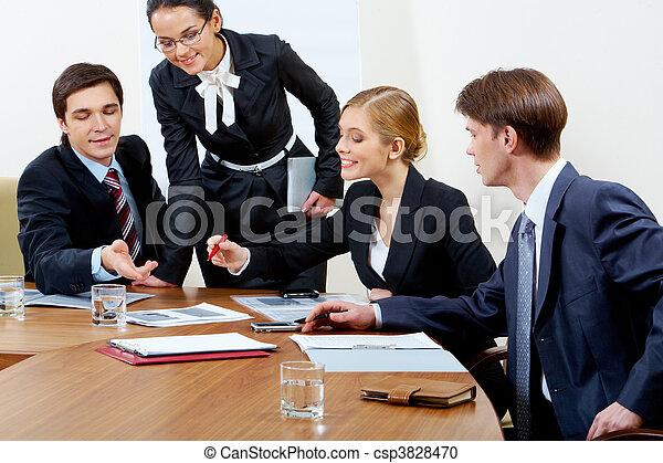 Gente trabajadora - csp3828470