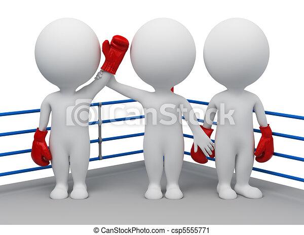 persone, vincitore, -, scelta, piccolo, 3d - csp5555771