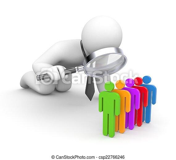 personeel, selectie - csp22766246