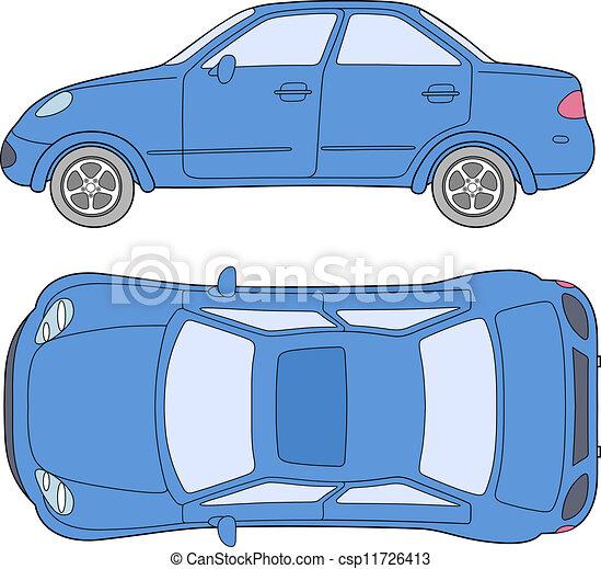 personenauto - csp11726413