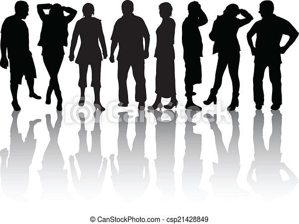personengruppe - csp21428849