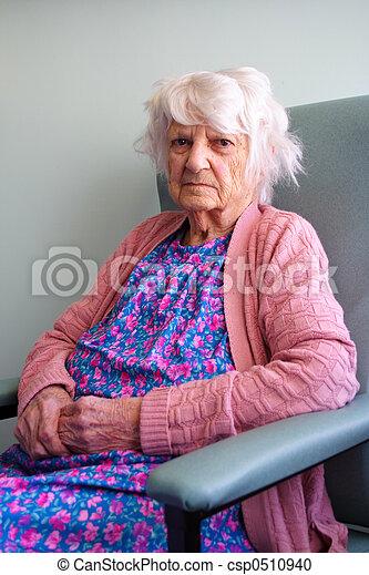 personne âgée - csp0510940