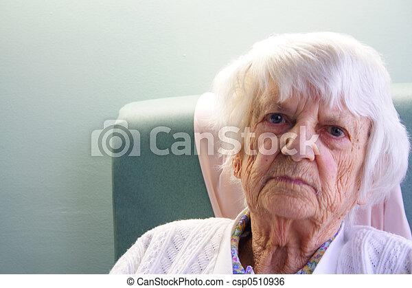 personne âgée - csp0510936