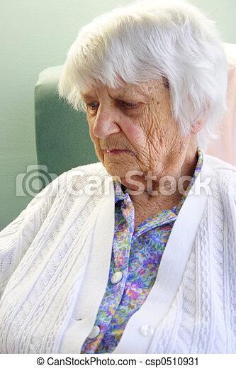 personne âgée - csp0510931