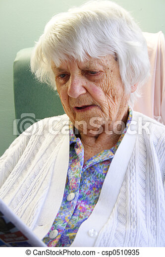 personne âgée - csp0510935