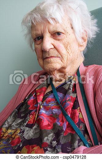 personne âgée - csp0479128