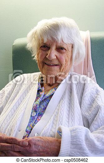 personne âgée - csp0508462
