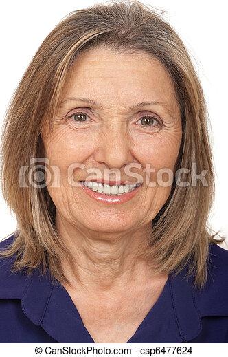 personne âgée - csp6477624