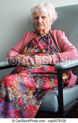 personne âgée - csp0479129
