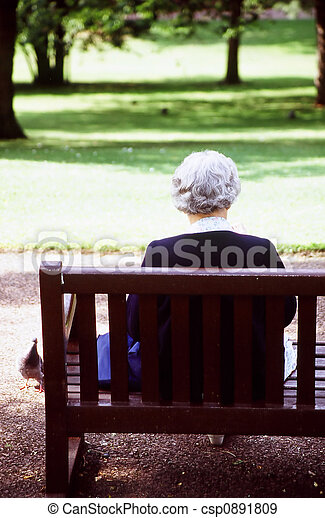 personne âgée - csp0891809