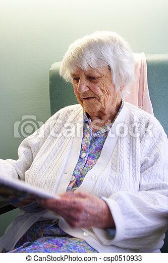 personne âgée - csp0510933