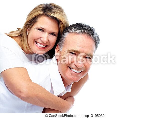 personne agee, couple., heureux - csp13195032