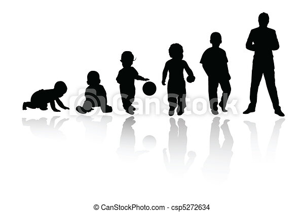 personne, silhouette - csp5272634