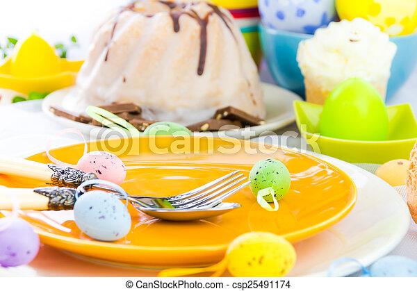 Personne vaisselle une paques table personne for Table une personne