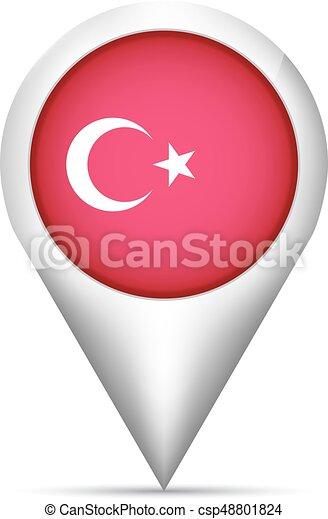 peru, mapa, ilustração, bandeira, vetorial, ponteiro, shadow. - csp48801824