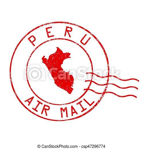 peru post office air mail st peru post office air mail grunge Cuba Internet peru post office air mail st csp47296774