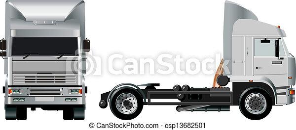 pesado, caminhão - csp13682501