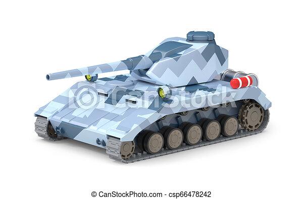 Tanque pesado fantástico - csp66478242