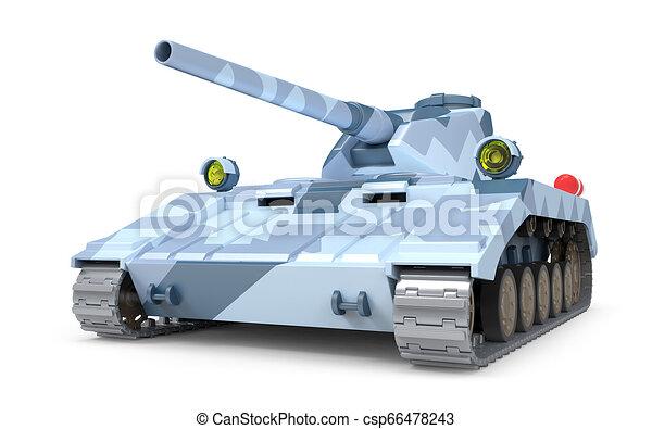 Tanque pesado fantástico - csp66478243