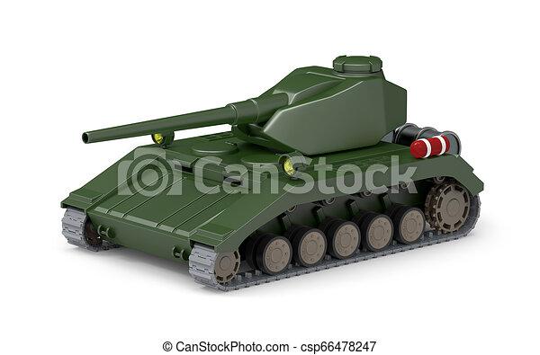 Tanque pesado fantástico - csp66478247