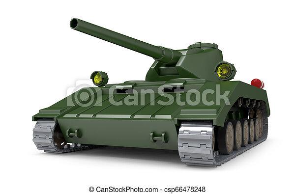 Tanque pesado fantástico - csp66478248