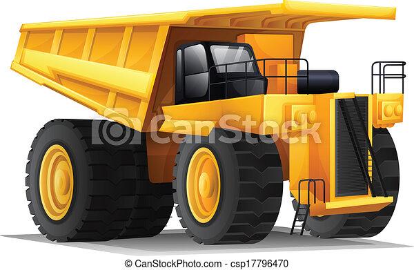 Un transportista pesado - csp17796470