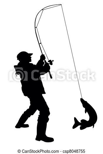 Pescando - csp8048755