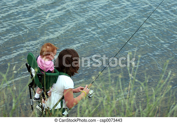 pesca, família - csp0073443