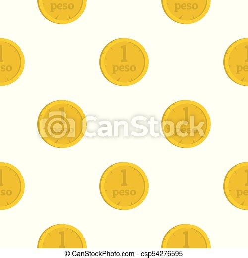 Peso pattern seamless - csp54276595
