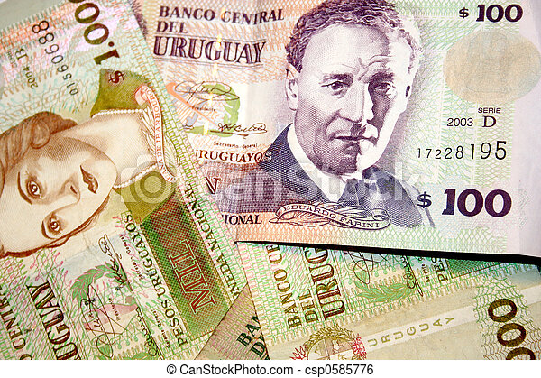 Peso - Uruguay - csp0585776