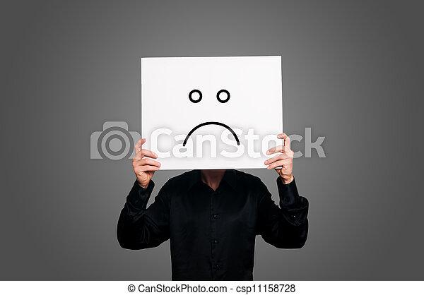 pessimista, negativo - csp11158728
