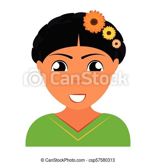 pessoa, abstratos, étnico - csp57580313