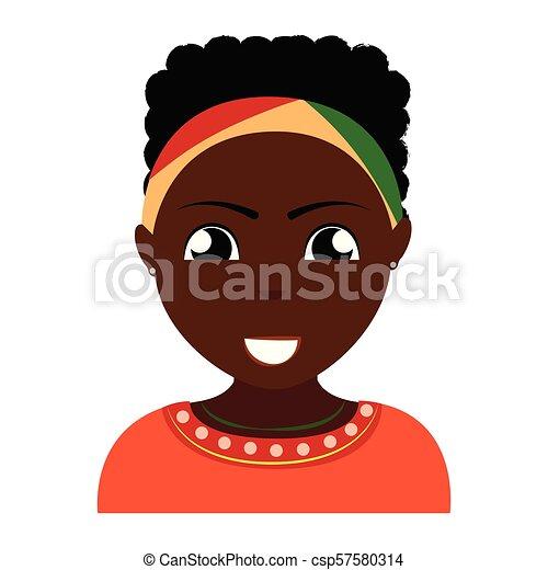 pessoa, abstratos, étnico - csp57580314