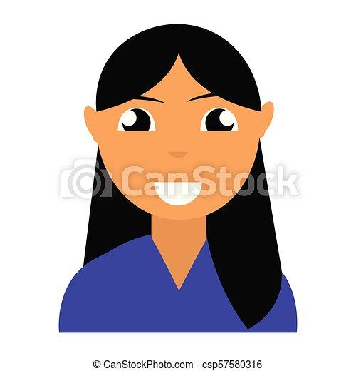 pessoa, abstratos, étnico - csp57580316