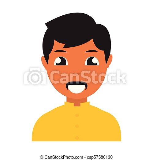 pessoa, abstratos, étnico - csp57580130