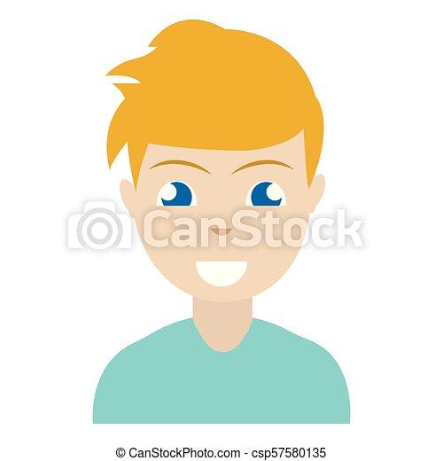 pessoa, abstratos, étnico - csp57580135