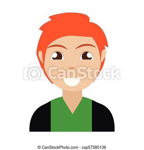 pessoa, abstratos, étnico - csp57580136
