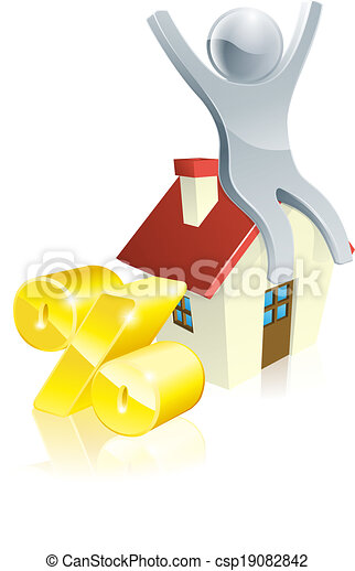 pessoa, conceito, cento, casa - csp19082842