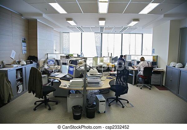 pessoas escritório - csp2332452