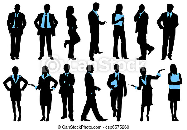 pessoas negócio - csp6575260