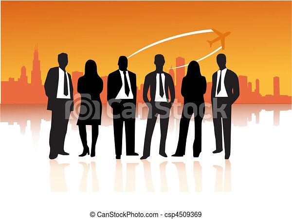 pessoas negócio - csp4509369
