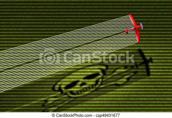 Pesticide Danger - csp49431677