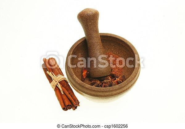 Pestle and mortar - csp1602256