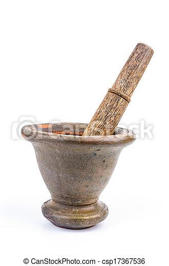 pestle mortar - csp17367536