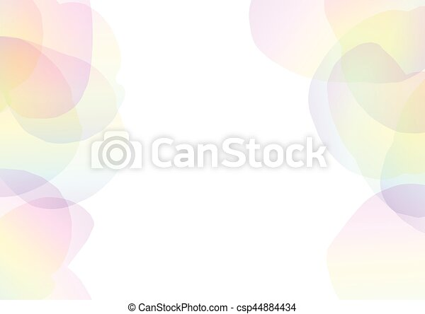 petal abstract transparent background eps vectors csp44884434