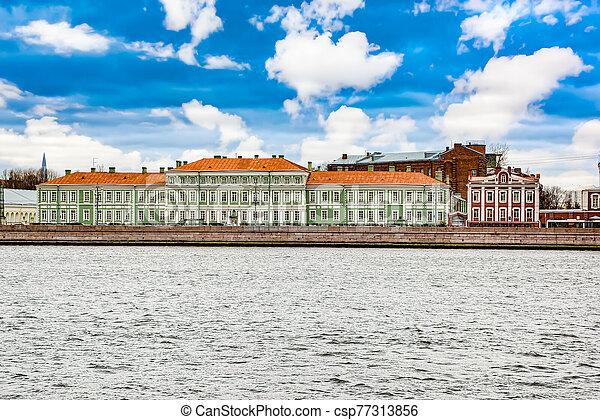 petersburg, santo, s., oriental, estado, facultad, universidad, studies., russia., petersburg. - csp77313856
