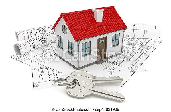 Petit construction maison dessins mod les toit keys for Dessins de construction de maison